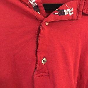 Bobby Jones Classic men's golf shirt red XL